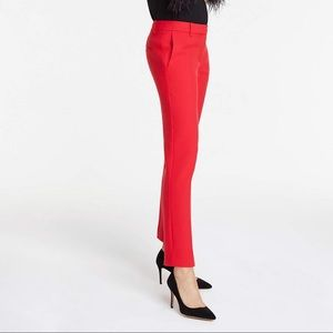Ann Taylor ankle pants, jubilee red, size 16 tall